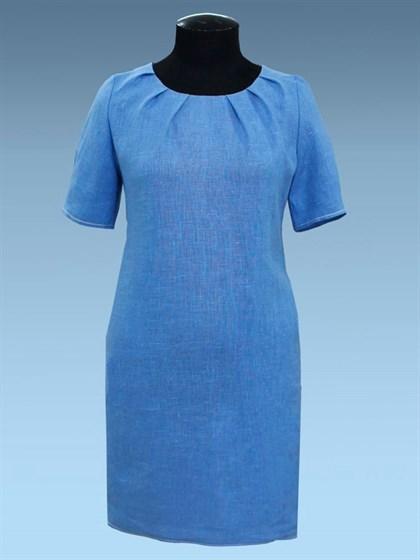 Платье изо льна - фото 25838