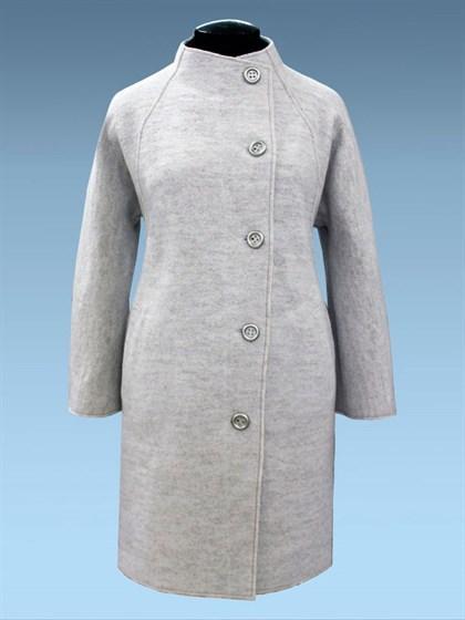 Пальто из валяной шерсти - фото 25846