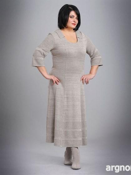 Платье с рукавами три четверти - фото 26230