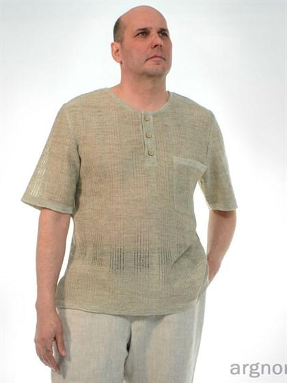 Мужской джемпер с карманом - фото 26342