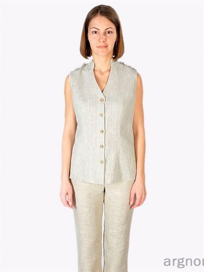 Блуза женская льняная - фото 27952
