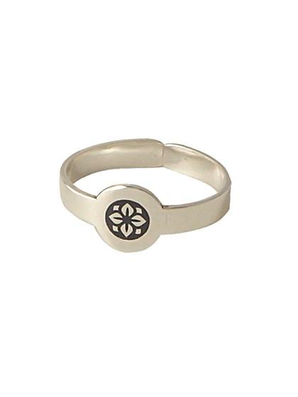 Кольцо серебряное 925 пробы - фото 28436