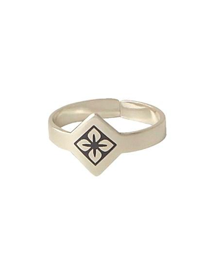 Кольцо серебряное - фото 28439