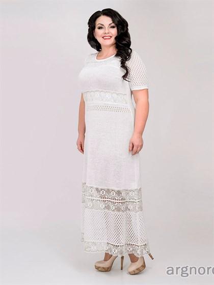 Платье женское с кружевом - фото 30035