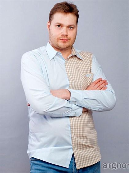 Мужская рубашка с длинным рукавом - фото 30149