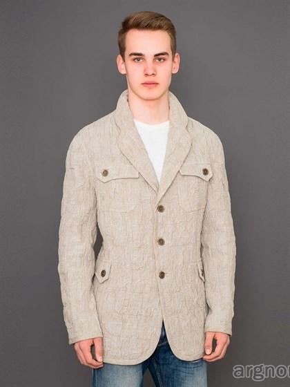 Куртка мужская из льна - фото 31138