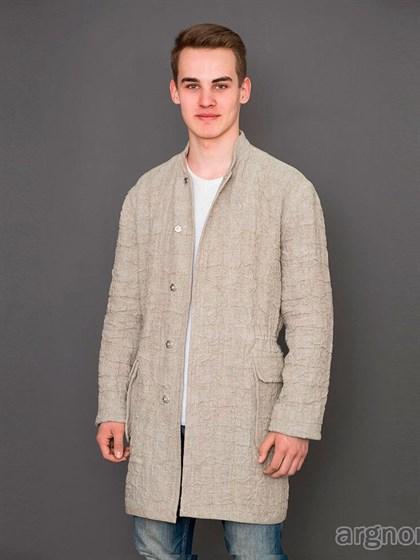 Льняная мужская куртка - фото 31150