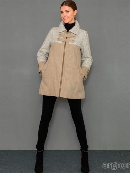 Куртка льняная с трикотажными вставками - фото 32290