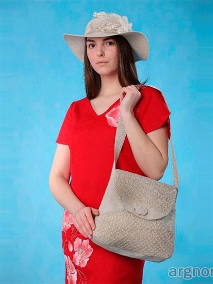 Льняная сумка М - фото 33019