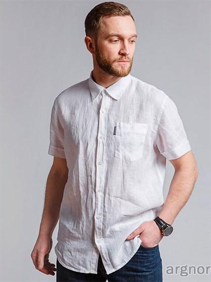 Мужская рубашка с коротким рукавом - фото 33048