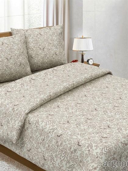 """Комплект постельного белья """"Узор коричневый""""- двухспальный - фото 33061"""
