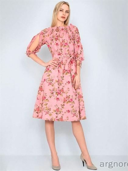 Платье льняное - фото 33209