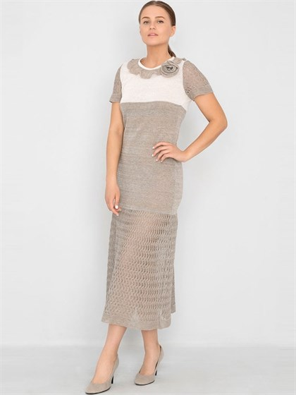 Платье изо льна - фото 33400