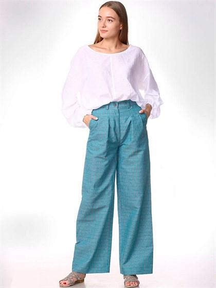 Женские льняные брюки - фото 33471