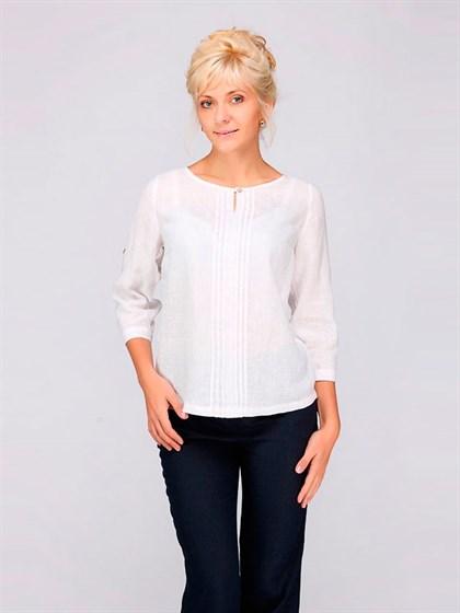 Блуза льняная - фото 33500