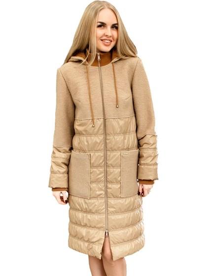 Женское пальто (валяная шерсть+плащевка) - фото 33716