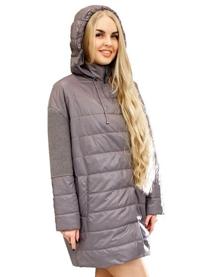 Комбинированное пальто (валяная шерсть+плащевка) - фото 33733