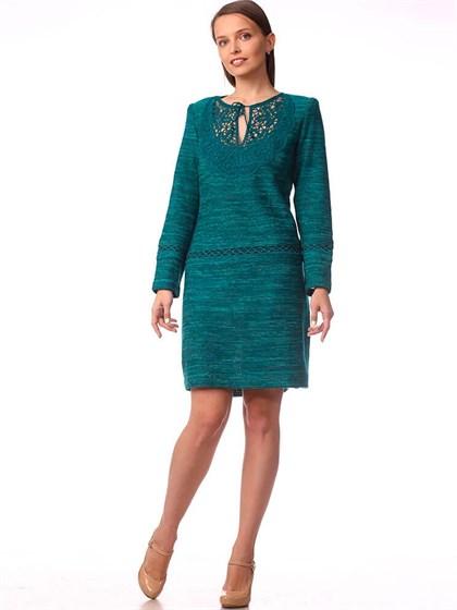 Платье вязаное прямое - фото 33964
