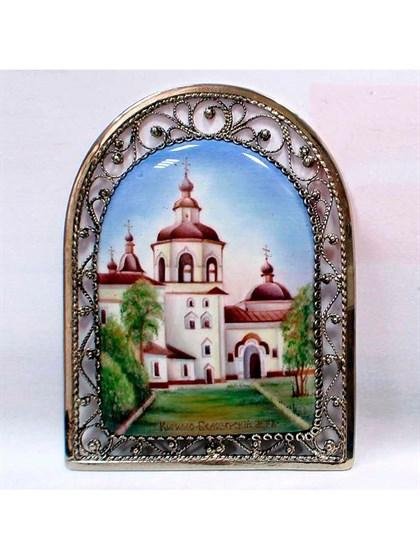 Панно финифть Кирилло-Белозерский монастырь - фото 34239