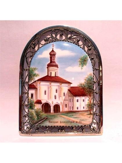 Панно финифть Кирилло-Белозерский монастырь - фото 34240
