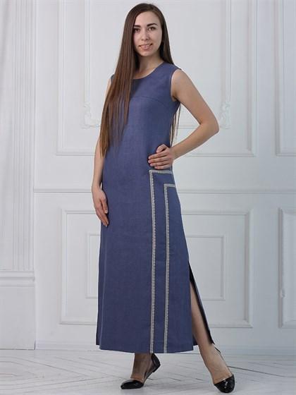 """Платье из льна """"Лада"""" - фото 35381"""