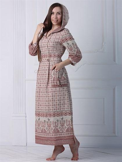 Платье льняное - фото 35383