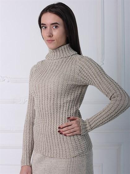 Джемпер - свитер льняной - фото 35430