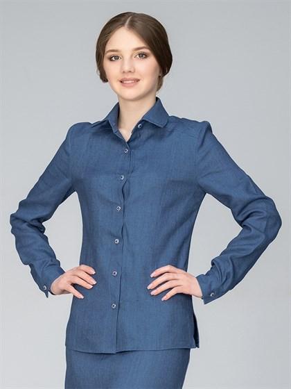 Блуза льняная - фото 35794