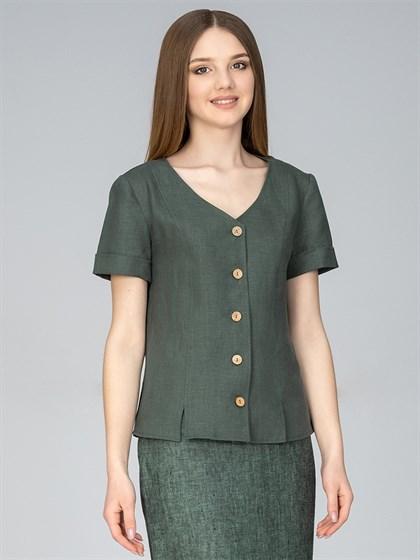 Блуза из льна - фото 35798