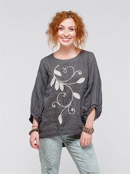 Блуза льняная - фото 35961