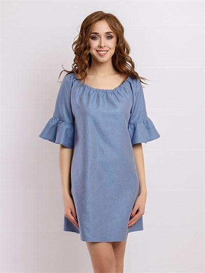 Платье льняное - фото 36126