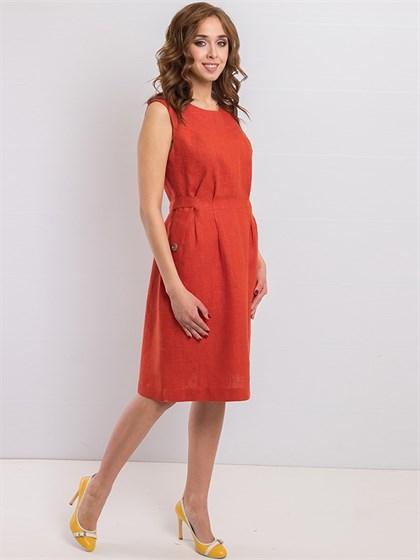 Платье льняное - фото 36204