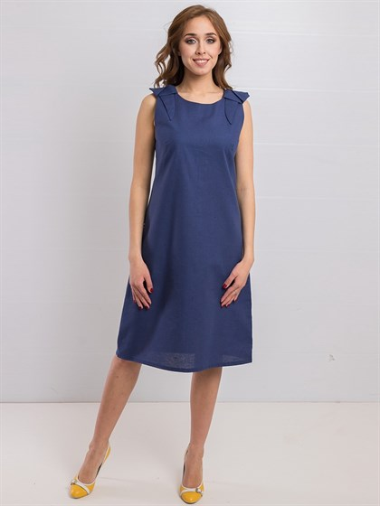 Платье из льна - фото 36205