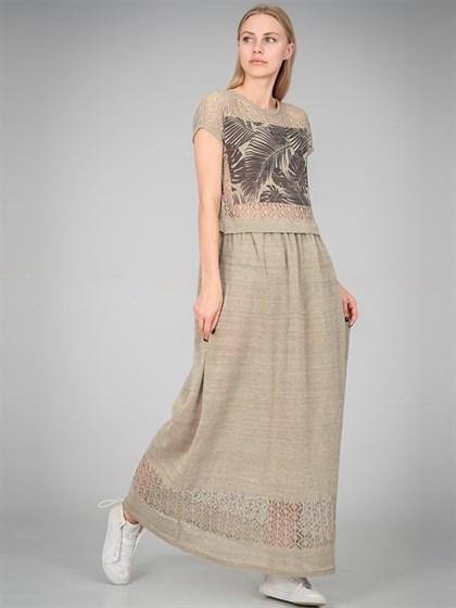 Платье из льна - фото 36377