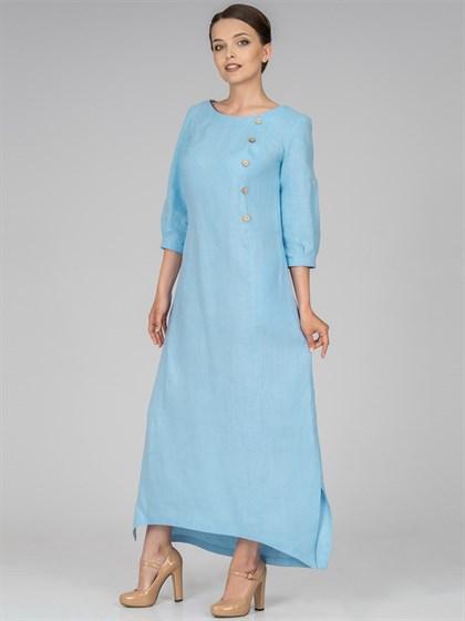 Платье изо льна - фото 36523