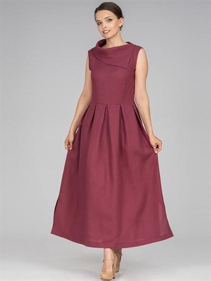Платье из льна - фото 36529