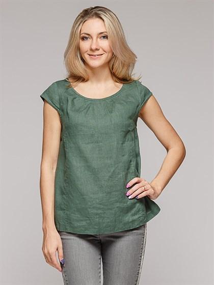 Блуза льняная - фото 36592