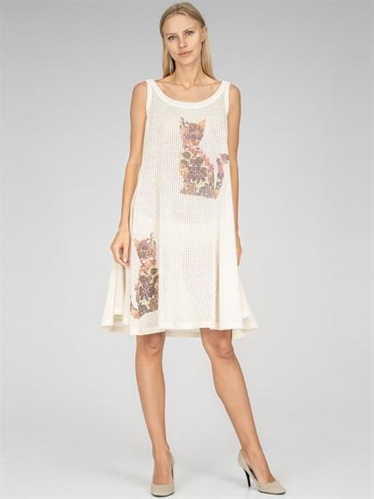 Платье трикотажное - фото 36709