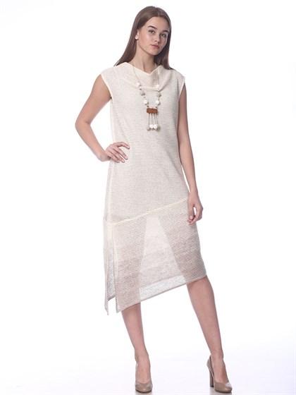 Платье льняное - фото 36883