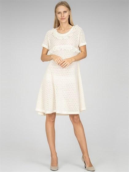 Платье льняное - фото 36911