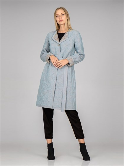 Пальто стеганое (двухстороннее) - фото 37151