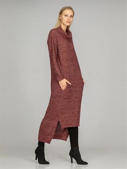 Платье из льна и полушерсти - фото 37566