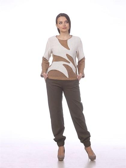 Льняные брюки - фото 38900
