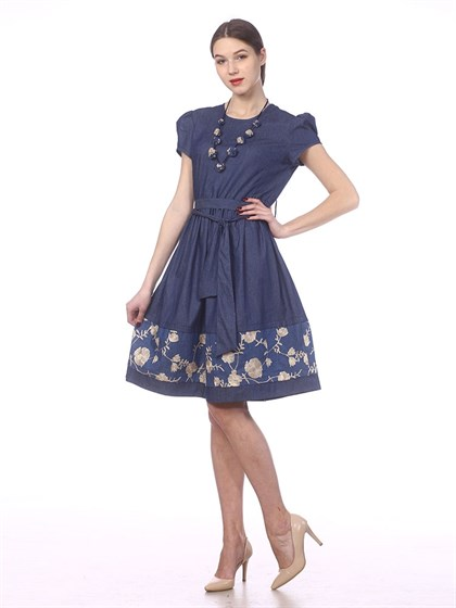 Платье льняное - Арт ш1223 | Интернет магазин ArgNord.ru