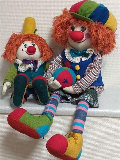 "Игрушка мягкая ""Клоун"" - фото 39260"
