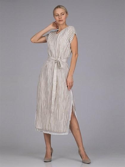 Льняное платье - фото 39270