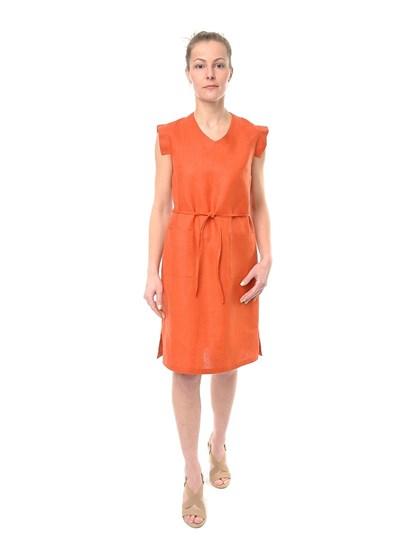 Платье из льна - фото 39564