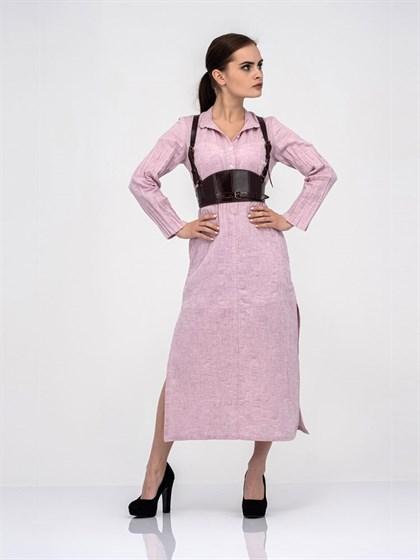 Платье-рубашка - фото 40820