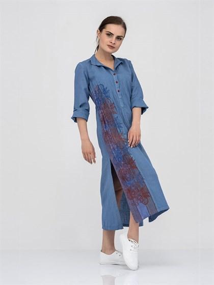 Платье-рубашка - фото 40872
