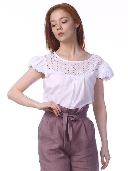 Блузка из батиста - фото 40939